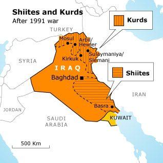 العرا الكرد الشيعة