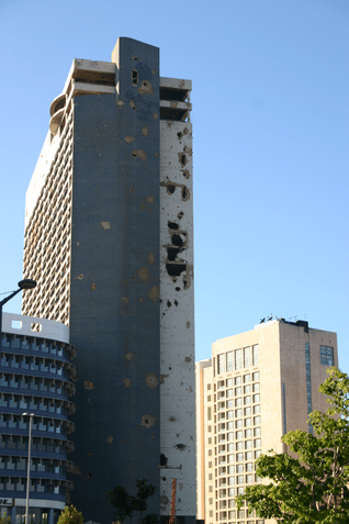 The Holiday Inn: a scarred symbol of the Lebanese Civil War