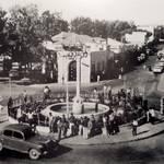 ساحة المنارة في الخمسينات...