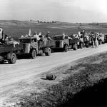 فلسطينيون يغادرون وطنهم عام 1948 UNRWA Photo Archive