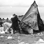 مخيم نهر البارد في لبنان، شتاء 1951 UNRWA Photo Archive