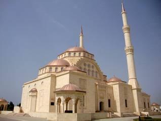 Oman Population - Al-Khuwair Said Bin Taimur Mosque