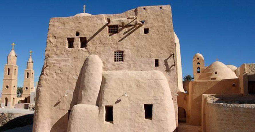 St. Antony's Coptic Monastery, 4th century, Eastern Desert / Photo Shutterstock