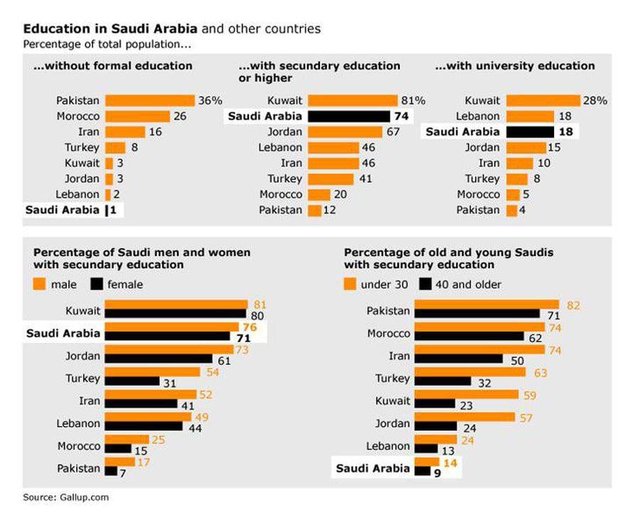 المملكة العربية السعودية التعليم