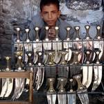 Governance Yemen - Street Vendor Daggers