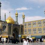 Population Iran - Hazrat-e Masumeh Mosque, Qom