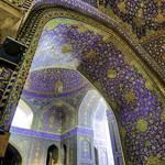 Population Iran - Shah Mosque, Esfahan