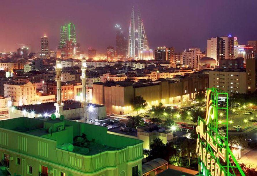 المنامة ليلاً Photo HH