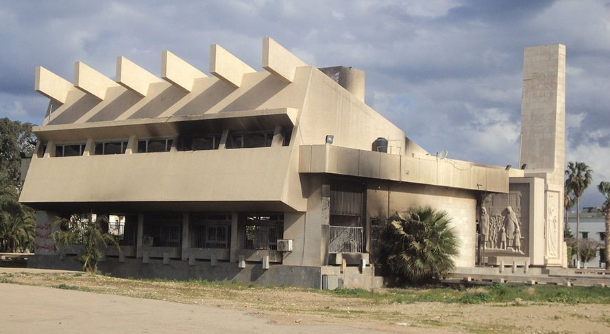 The Former Green Book Centre in Benghazi