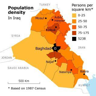 العراق السكان