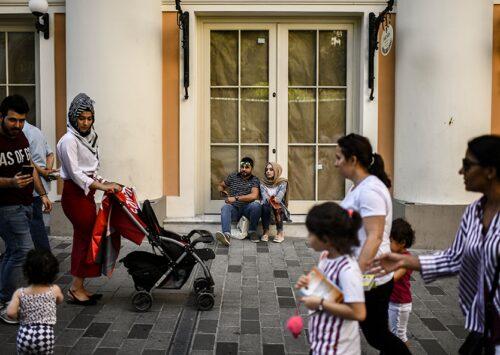 المجتمع تركيا