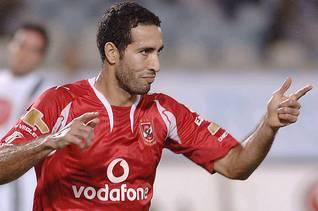لاعب فريق الأهلي محمد أبو تريكة