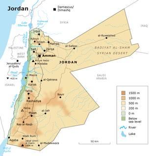 Geography Jordan - Environment