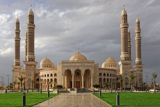 The al-Saleh Mosque in Sanaa, named after President Ali Abdullah Saleh, opened in 2008 Photo: Shutterstock