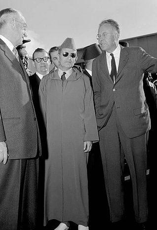 الملك محمد الخامس عام 1957