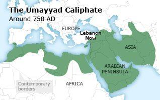 لبنان الخلافة الاموية