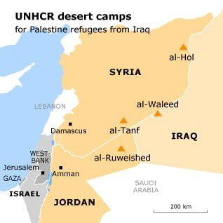 refugee issye iraqi palestinians