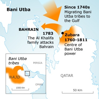 Bahrain: The British protectorate since the 17th Century
