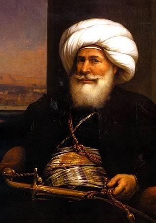 محمد علي (1769-1849) رسم Auguste Couder