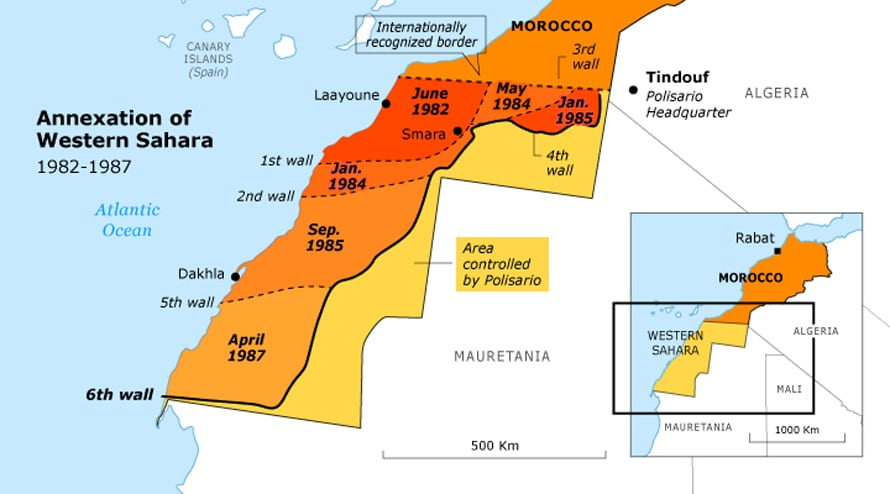 The End of Spanish Rule in the Sahara