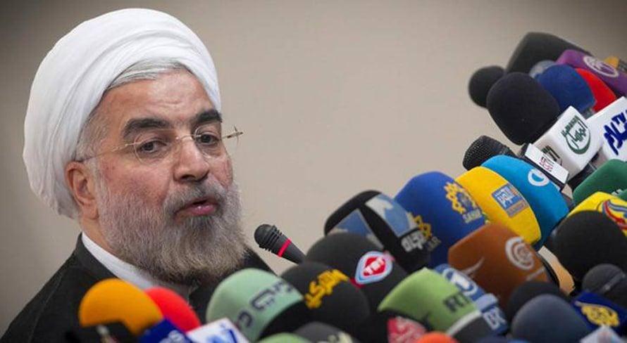 - البرلمان الإيرانيفاز حسن روحاني بانتخابات 14 يونيو 2013 وتم تنصيبه في 3 أغسطس 2013 / Photo HH