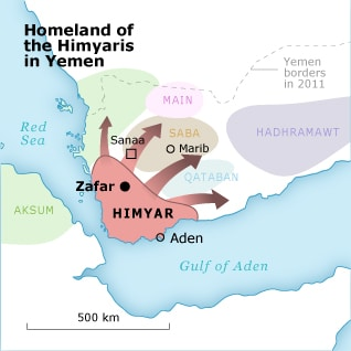 Homeland of the Himyaris in Yemen