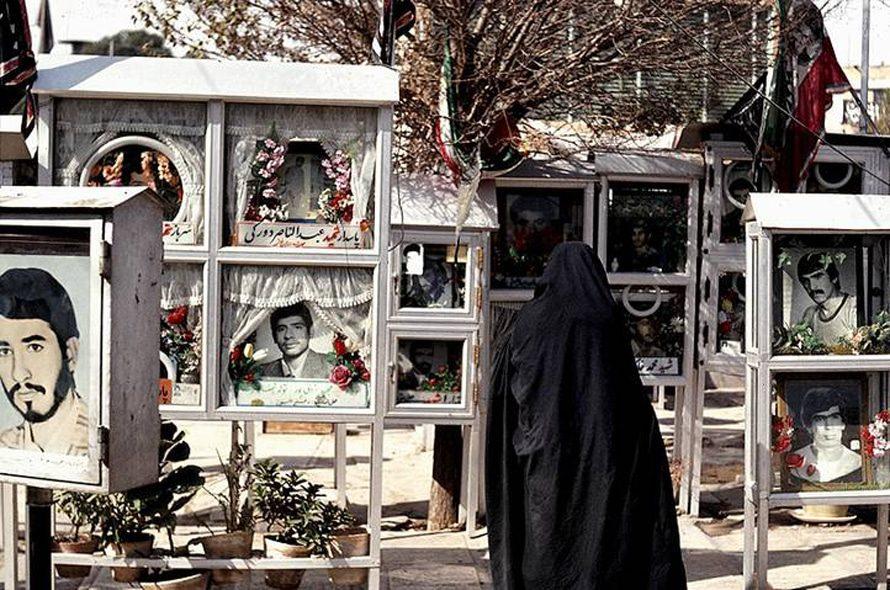 War cemetery Behest-e Zahra in Tehran / Foto Fanack