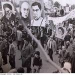 Iranian demonstrators 1979 islamic revolution