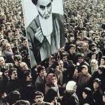 Iranian demonstrators  islamic revolution