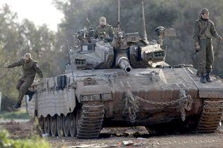 Israeli Merkava tank (2009) / Photo idf-armor.blogspot.com