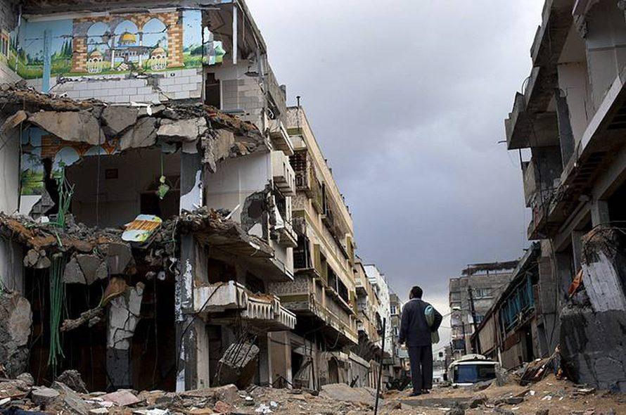 قطاع غزة بعد 8 أيام من القصف الإسرائيلي، نوفمبر 2012 / Photo New York Times/HH