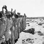 Egypt soldiers captured by Israel, Sinai, June 1967 / Photo HH