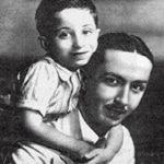 الأمير فيصل الثاني مع خاله عبد الإله