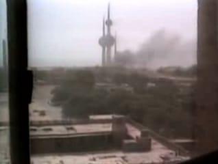 الهجوم العراقي على الكويت كما عرضه التلفزيون