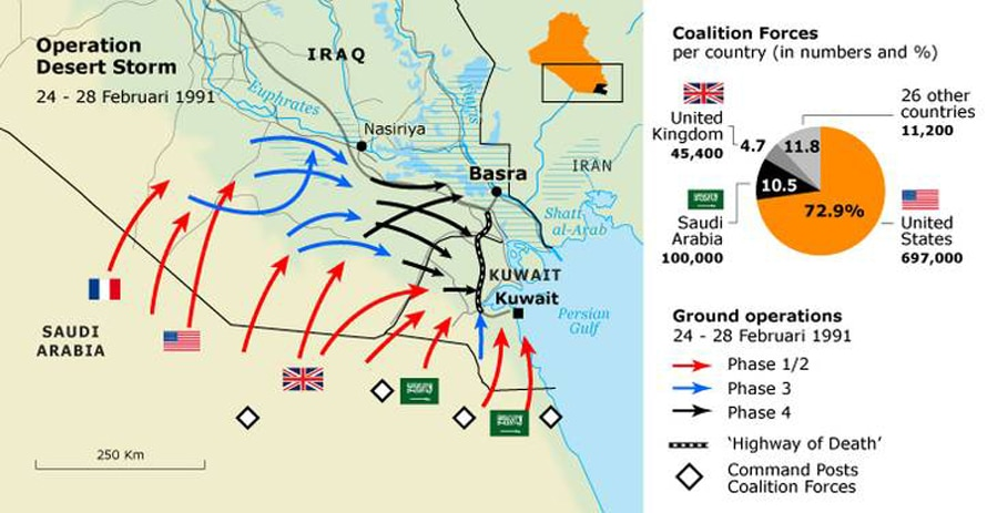 The kuwait crisis ground operation desert storm gumiabroncs Images