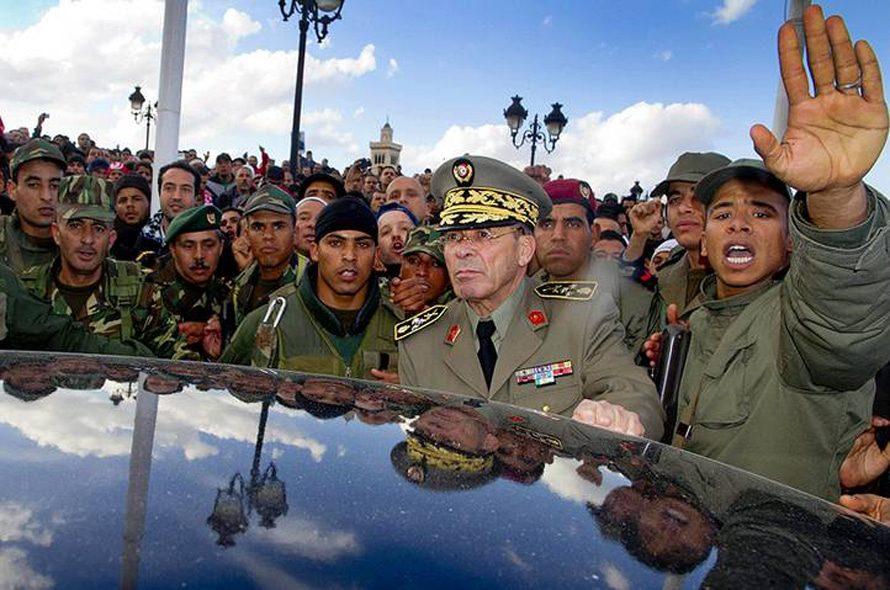 Governance Tunisia - military general Rachid-Ammar