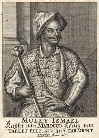نقش لمولاي إسماعيل (1672-1727)