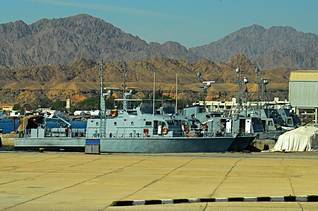 Egyptian Navy patrol boats