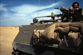 عربات مؤللة M-113 في حرب تشرين / Photo HH