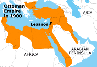 لبنان الامبراطورية العثمانية