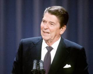 US President Ronald Reagan october war 1973 oslo accords