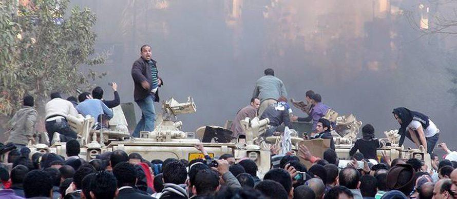 القتال خلال أزمة 2011
