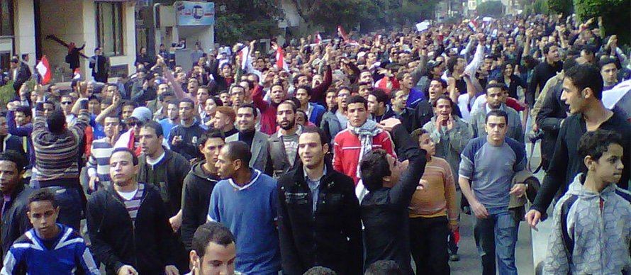 Fighting during the 2011 uprising
