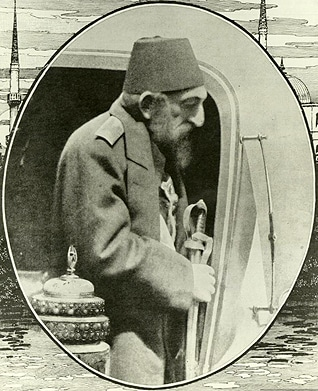 Sultan Abdulhamid II in his later years