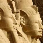 Economy Egypt - Abu Simbel Ramses II heads