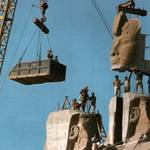 Economy Egypt - Reconstruction of the temple of Abu Simbel