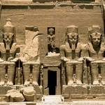 Economy Egypt - Statues of Ramses II at Abu Simbel