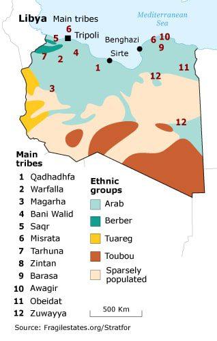 ليبيا قبائل