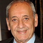 Nabih Berri, leader of the Amal Movement (and speaker of the Parliament)