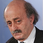 Walid Jumblatt, leader of the (Druze) Progressive Socialist Party